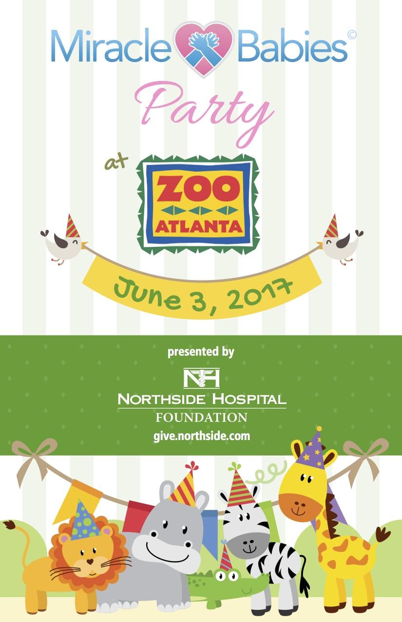 Northside Hospital Miracle Babies Party at the Zoo. June 3, 2017 at Zoo Atlanta.