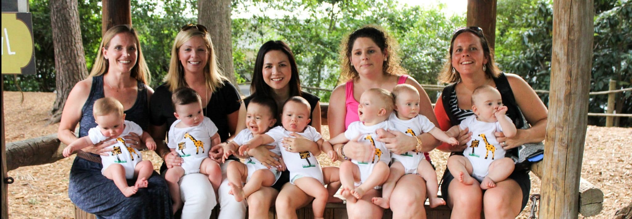 Miracle Babies reunion at the Zoo