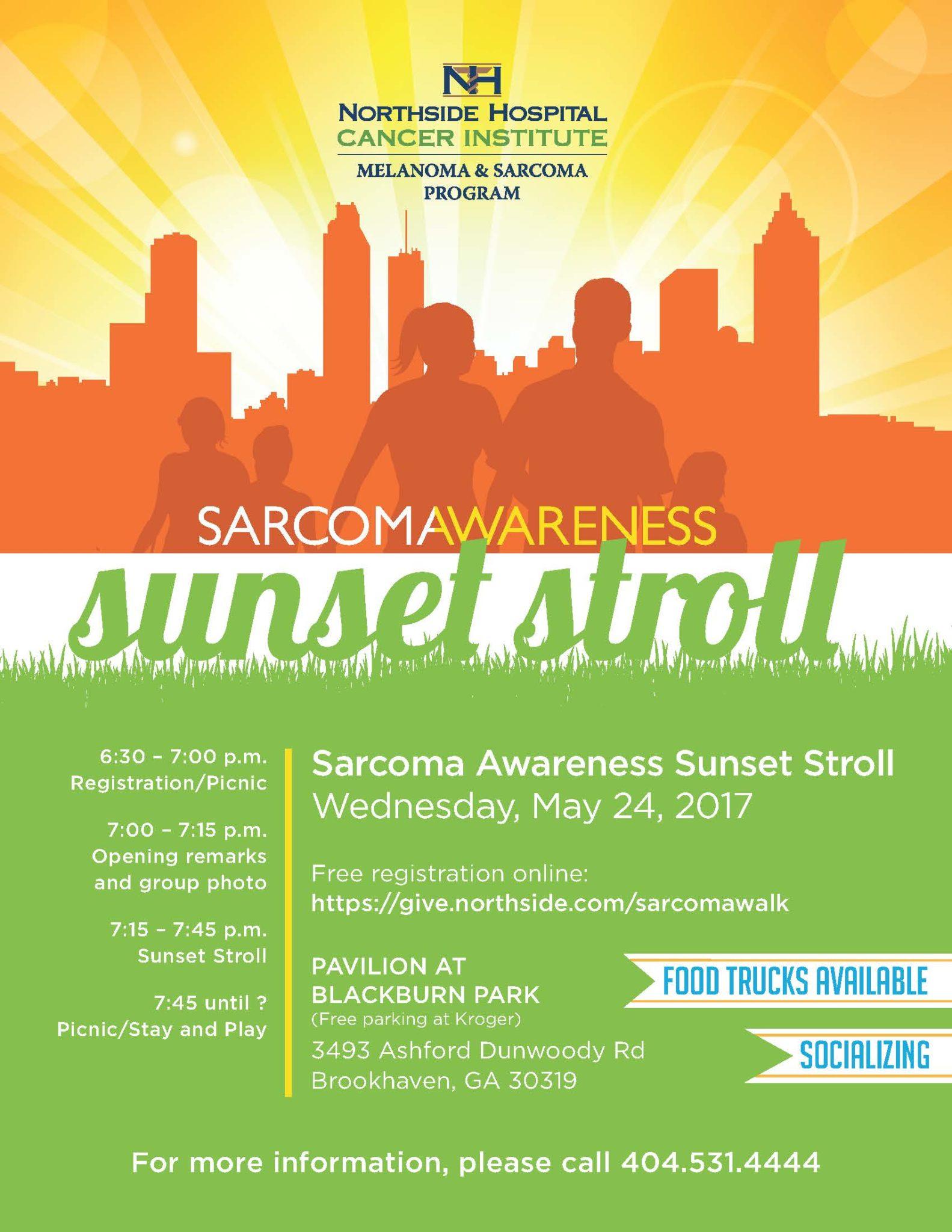 Sarcoma Awareness Sunset Stroll