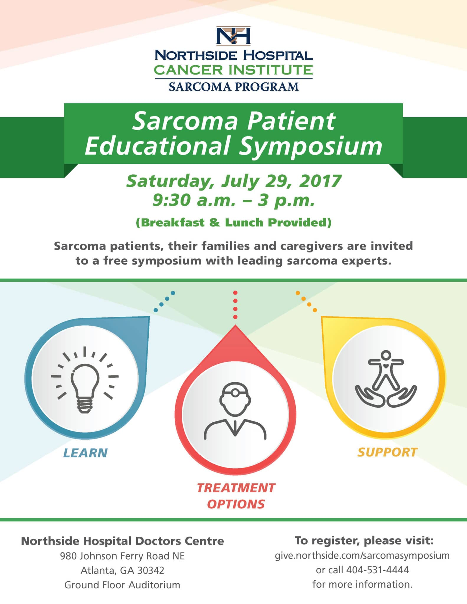 Northside Hospital Sarcoma Patient Educational Symposium